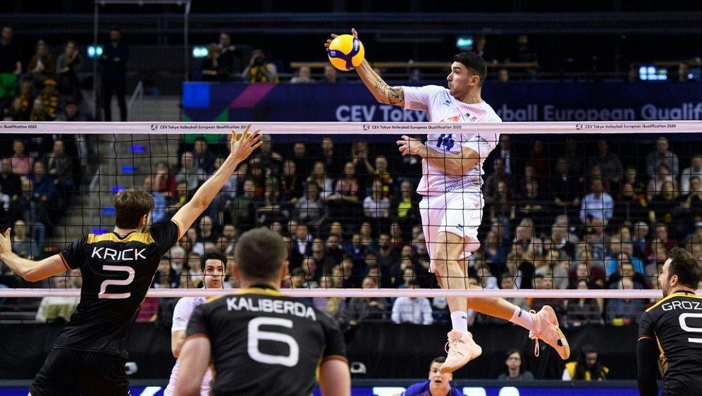 Frankreich zu stark für die deutschen Volleyballer - Bildquelle: CEVCEVCEV