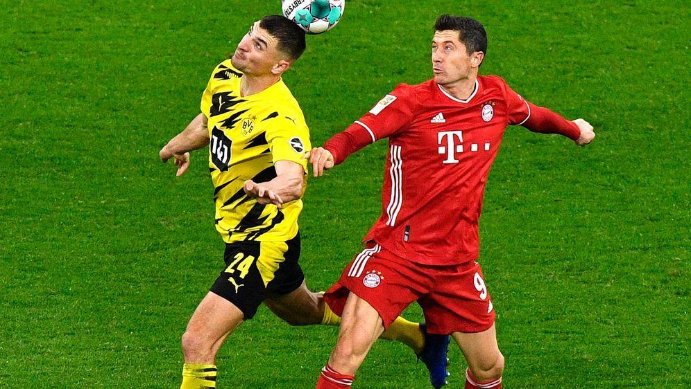 Bayerns Robert Lewandowski traf beim 3:2-Hinrunden-Sieg der Münchner in Dort... - Bildquelle: 2020 Getty Images