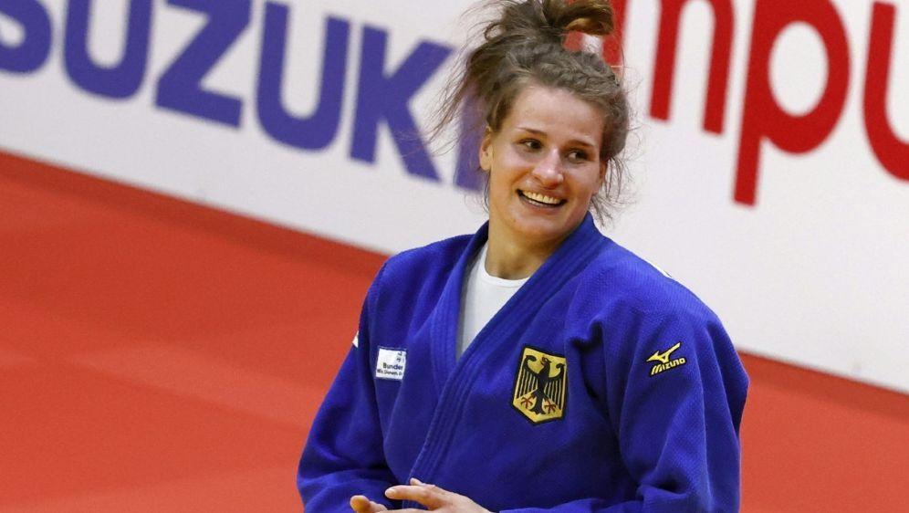 Anna-Maria Wagner hat die Goldmedaille in Kasan gewonnen - Bildquelle: AFPSIDJACK GUEZ