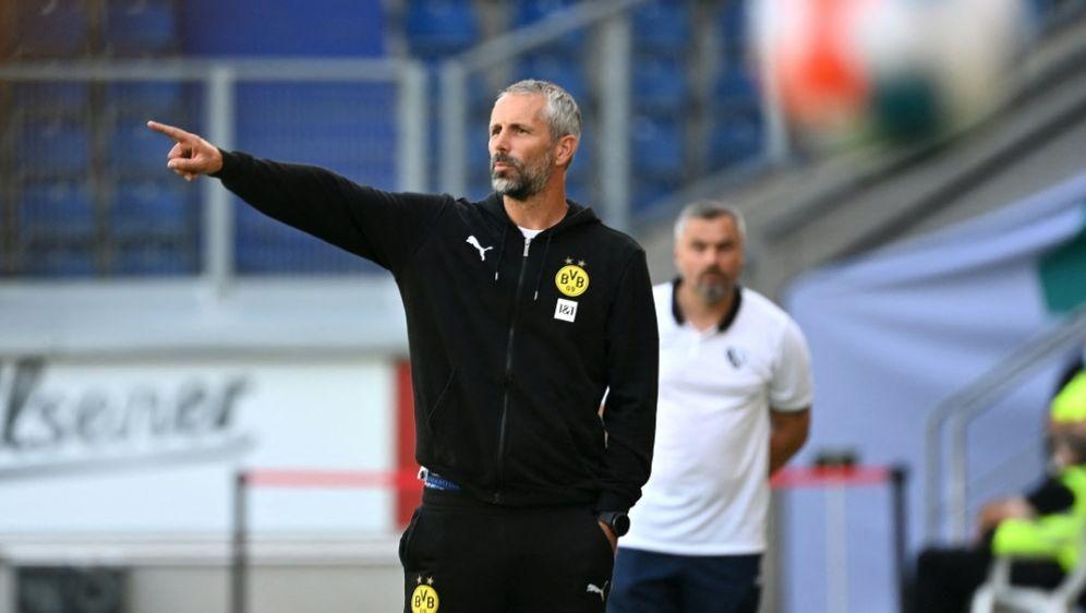 BVB-Coach Marco Rose konnte positive Eindrücke sammeln - Bildquelle: AFPSIDINA FASSBENDER