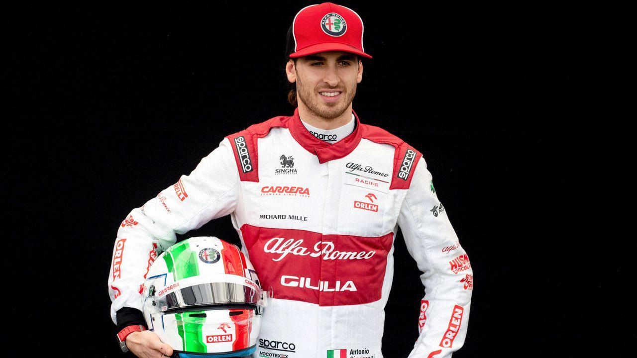 Antonio Giovinazzi (Alfa Romeo Racing)