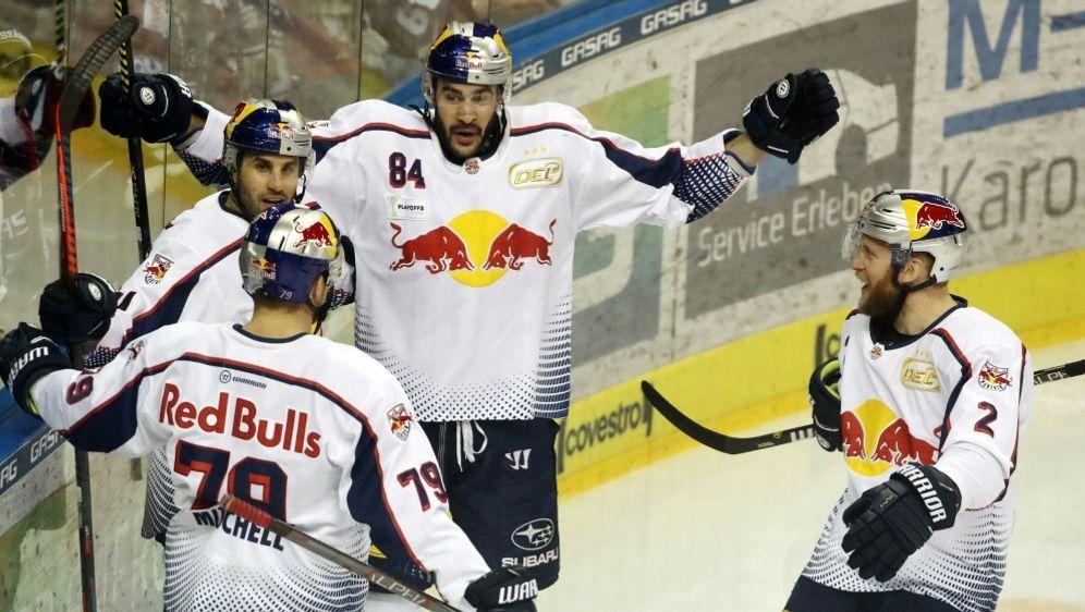 Red Bull München gewinnt das neunte Spiel nacheinander - Bildquelle: PIXATHLONPIXATHLONSID