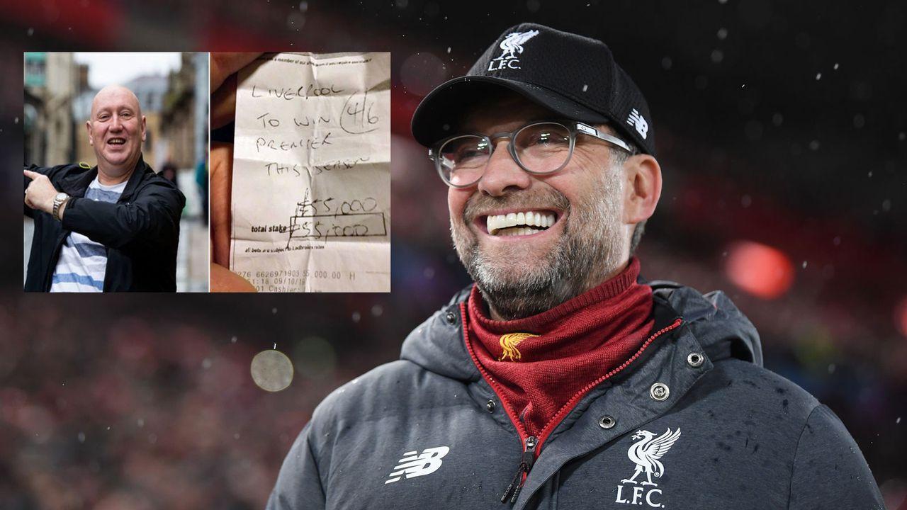 ManUnited-Fan setzt Erbe auf Liverpool-Titel und räumt ab - Bildquelle: Getty Images, Twitter/@Mowiththesauce