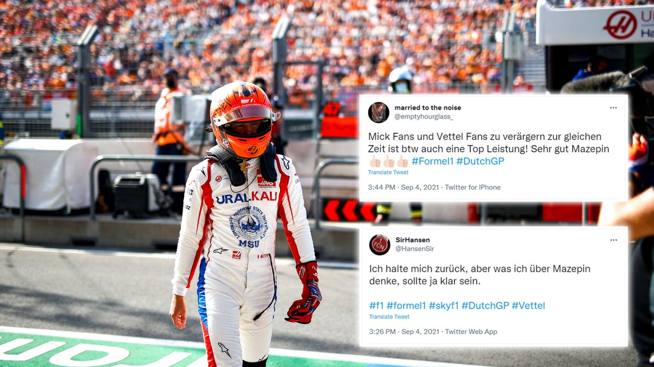 Nikita Mezepin erneut voll im Fokus der verärgerten Fans - Bildquelle: imago images/Motorsport Images