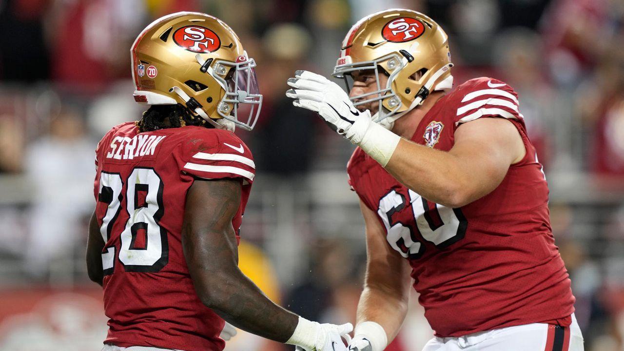 Running Back: Trey Sermon (San Francisco 49ers) - Bildquelle: 2021 Getty Images