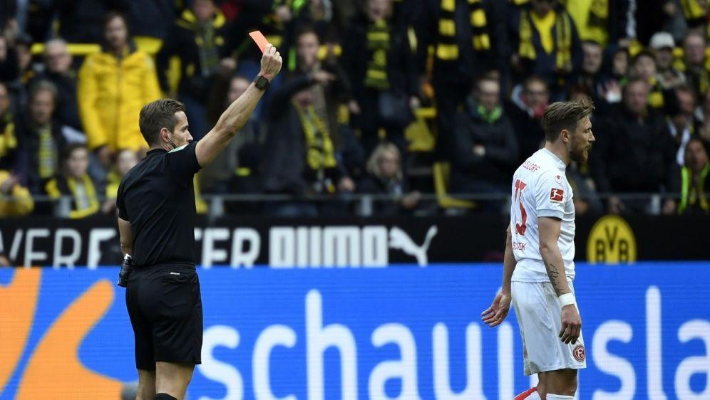 Düsseldorf: Adam Bodzek ist für zwei Spiele gesperrt - Bildquelle: AFPSIDINA FASSBENDER