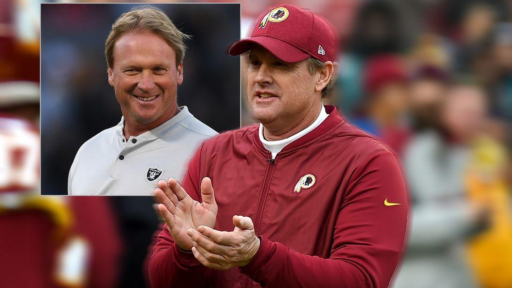 """Jay Gruden will Bruder Jon und die Raiders bei """"Hard Knocks"""" sehen. - Bildquelle: Getty"""