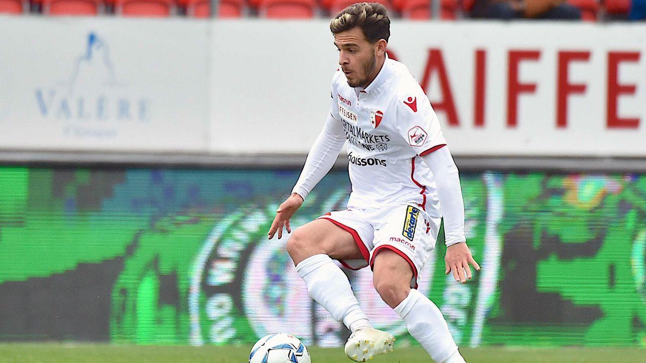 Bastien Toma (FC Sion/Schweiz) - 8 Scorerpunkte - Bildquelle: imago images / Frédéric Dubuis