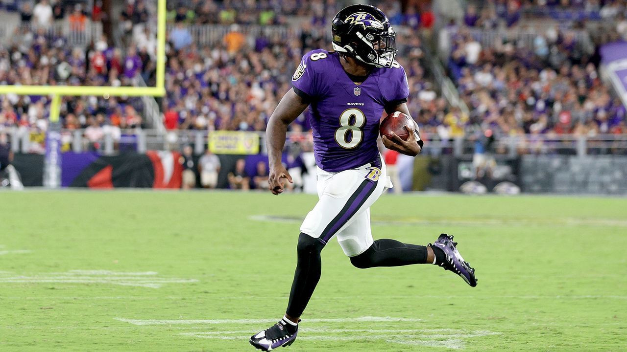 Rushing Offense: Baltimore Ravens - Bildquelle: 2021 Getty Images