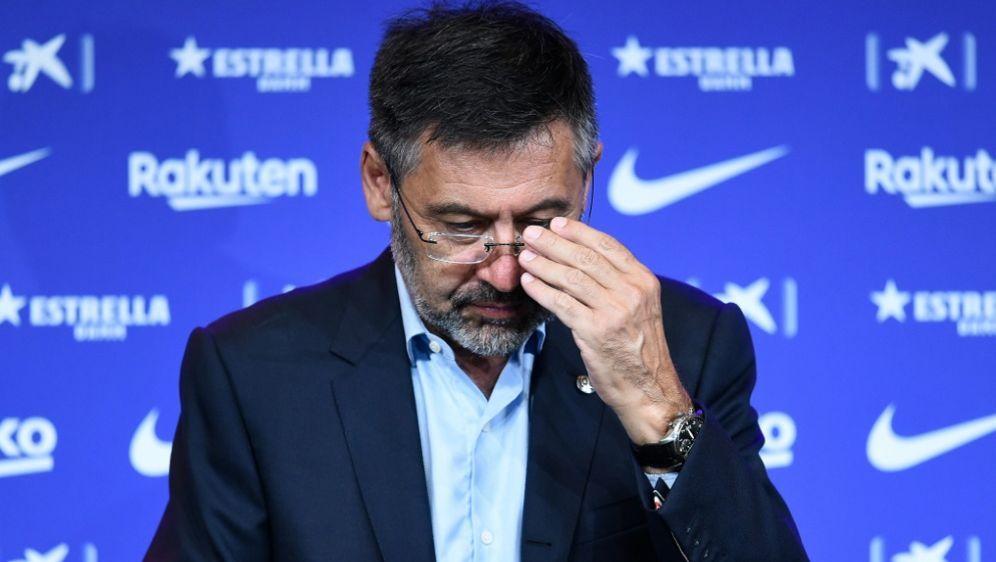 Zuletzt immer umstrittener: Josep Maria Bartomeu - Bildquelle: AFPSIDJOSEP LAGO