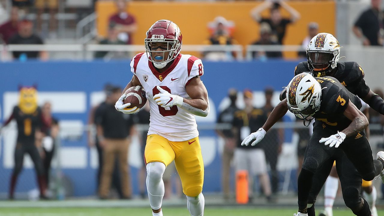 Amon-Ra St.Brown, Wide Receiver, USC - Bildquelle: Getty Images