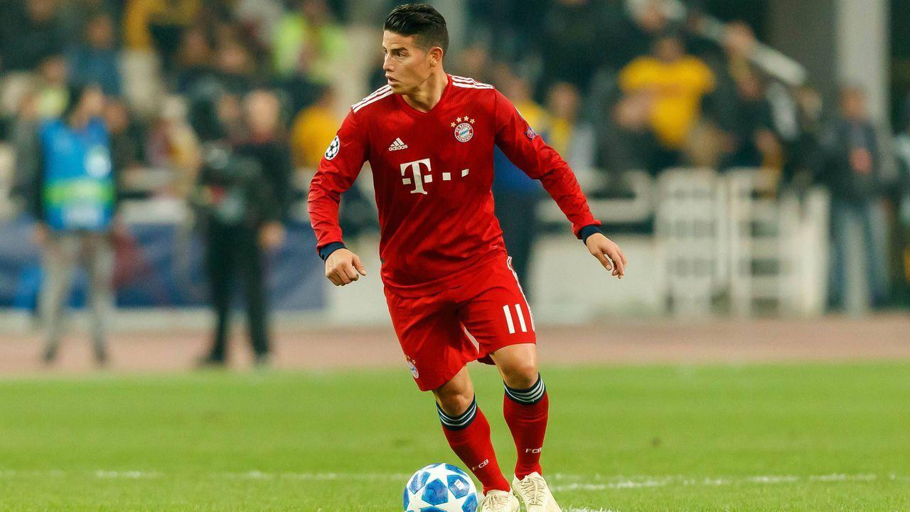 James Rodriguez (FC Bayern München) - Bildquelle: imago/DeFodi