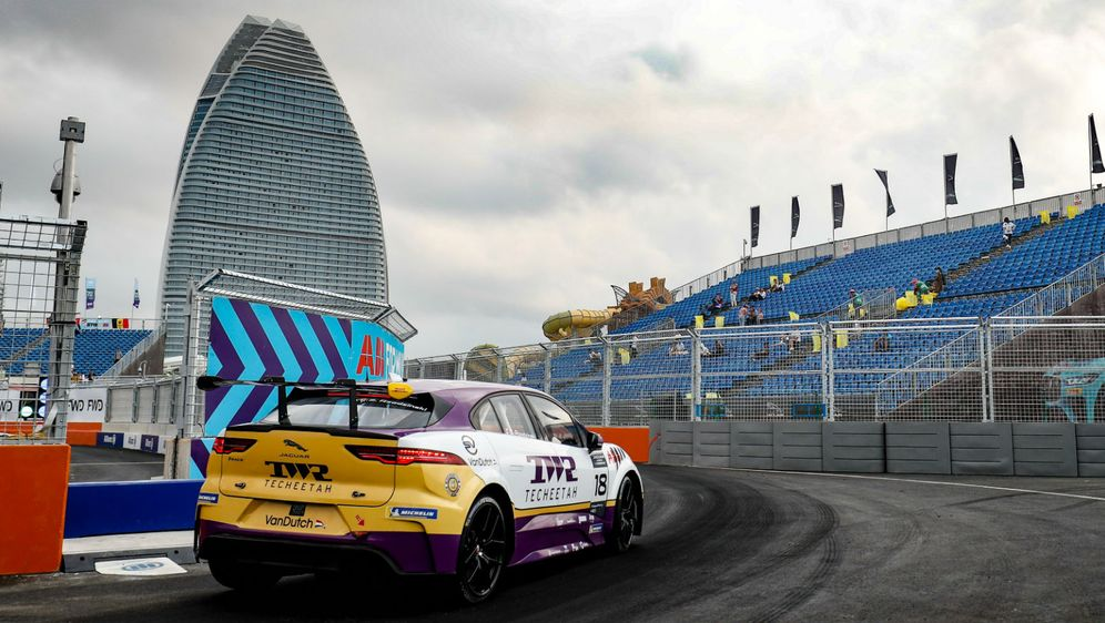 Qualifying der Jaguar I-PACE eTrophy in Sanya
