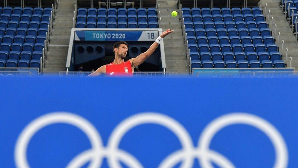 Djokovic jagt den Golden Slam - Bildquelle: AFPSIDTIZIANA FABI