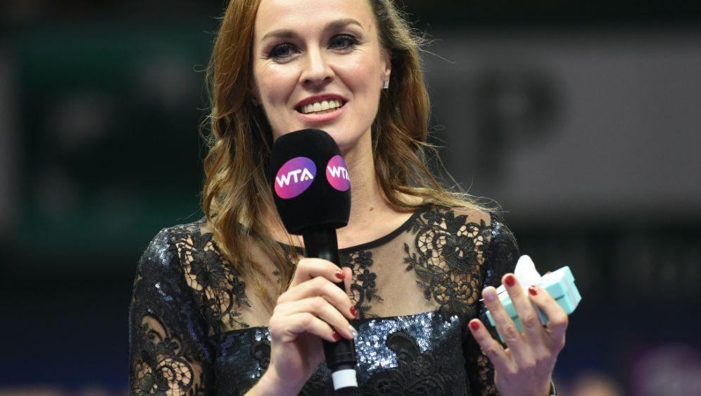 Ex-Tennisprofi Martina Hingis ist Mutter geworden - Bildquelle: AFPSIDROSLAN RAHMAN