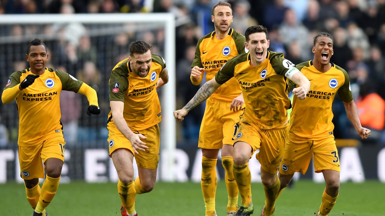 Platz 15 - Brighton and Hove Albion - Bildquelle: 2019 Getty Images