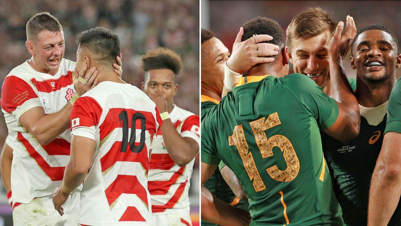 Japan vs. Südafrika (Sonntag ab 12:15 Uhr live auf ProSieben MAXX) - Bildquelle: Getty