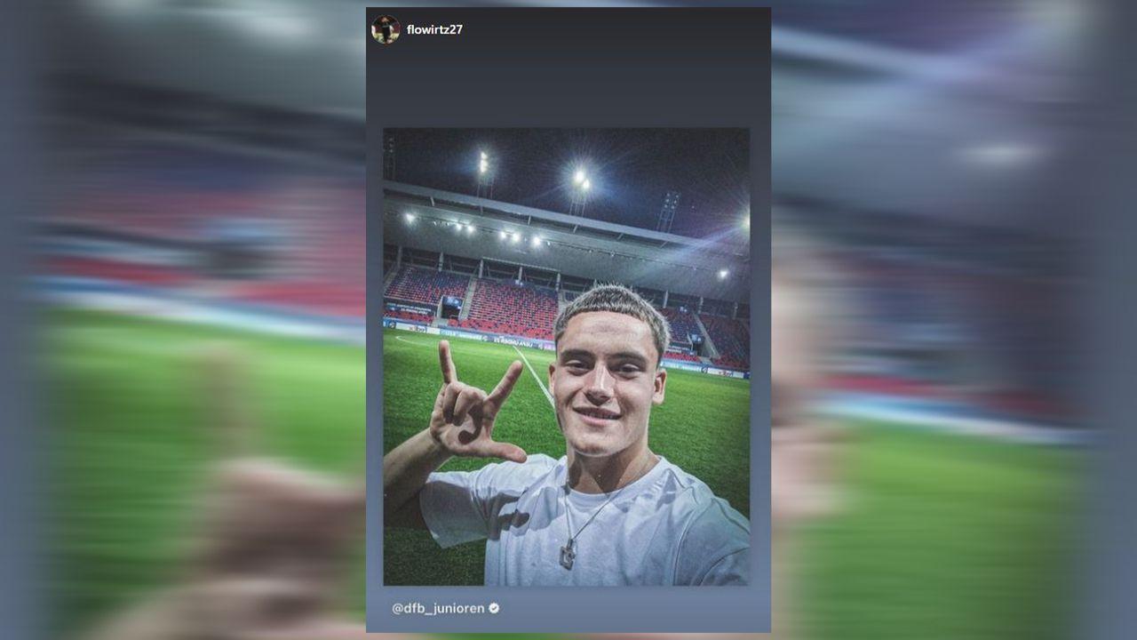 EM-Finale! Die Partybilder der deutschen U21 - Bildquelle: Instagram: Florian Wirtz