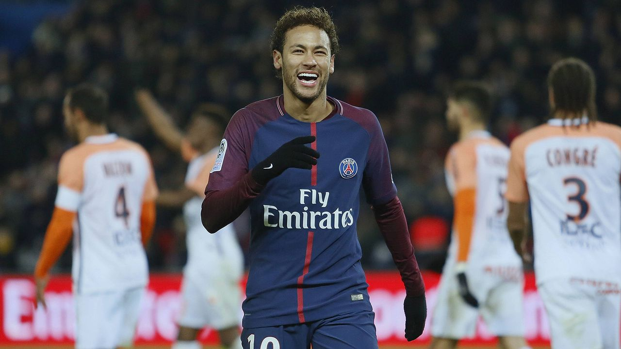 Platz 1: Neymar - Bildquelle: imago/Cordon Press/Miguelez Sports