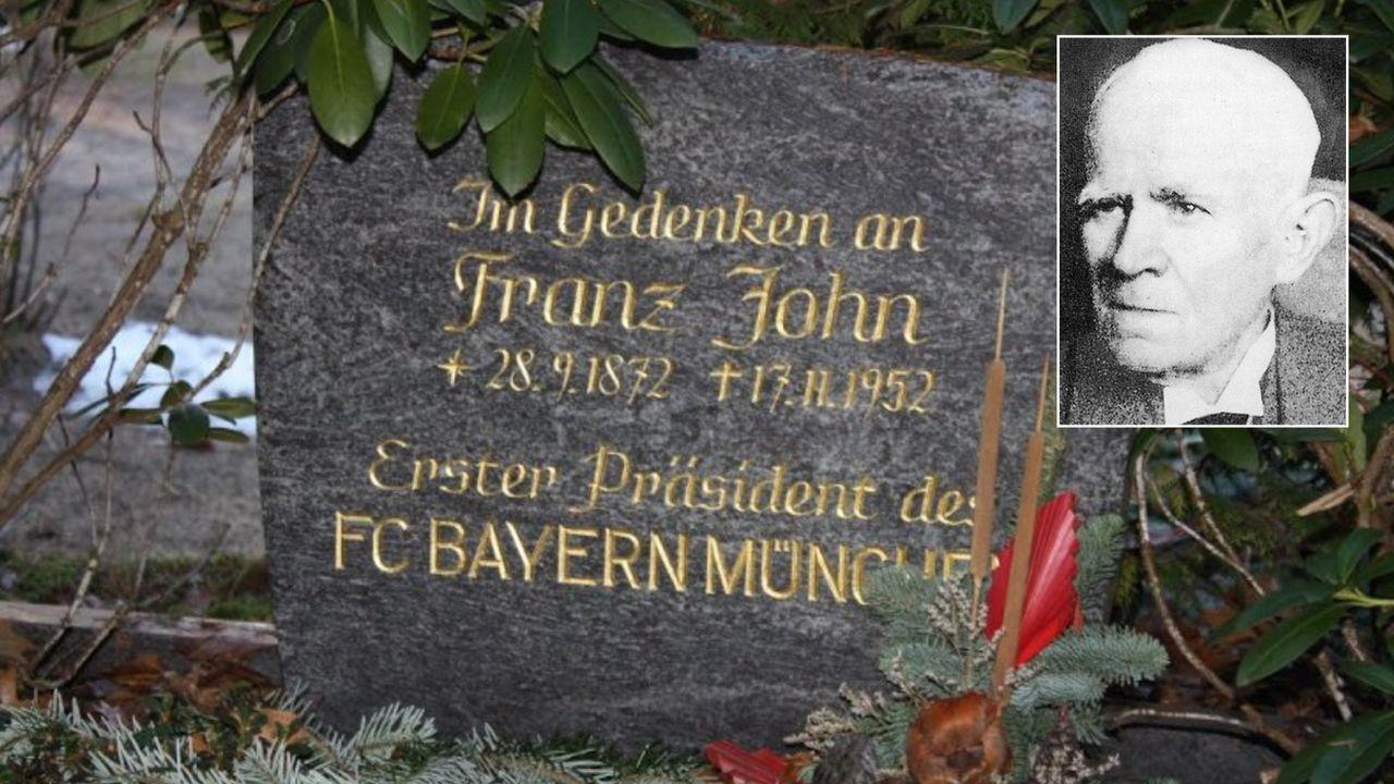 Gründer Franz John kam aus der Nähe Berlins - Bildquelle: twitter@NURderFCB1900
