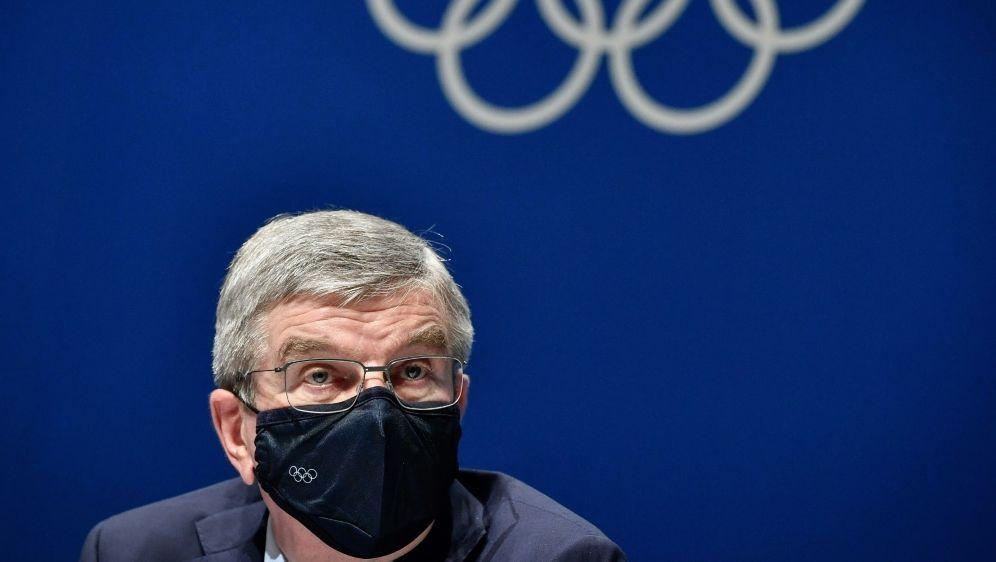 """Thomas Bach beunruhigt von """"Doping-Anschlägen"""" - Bildquelle: AFPSIDFabrice COFFRINI"""