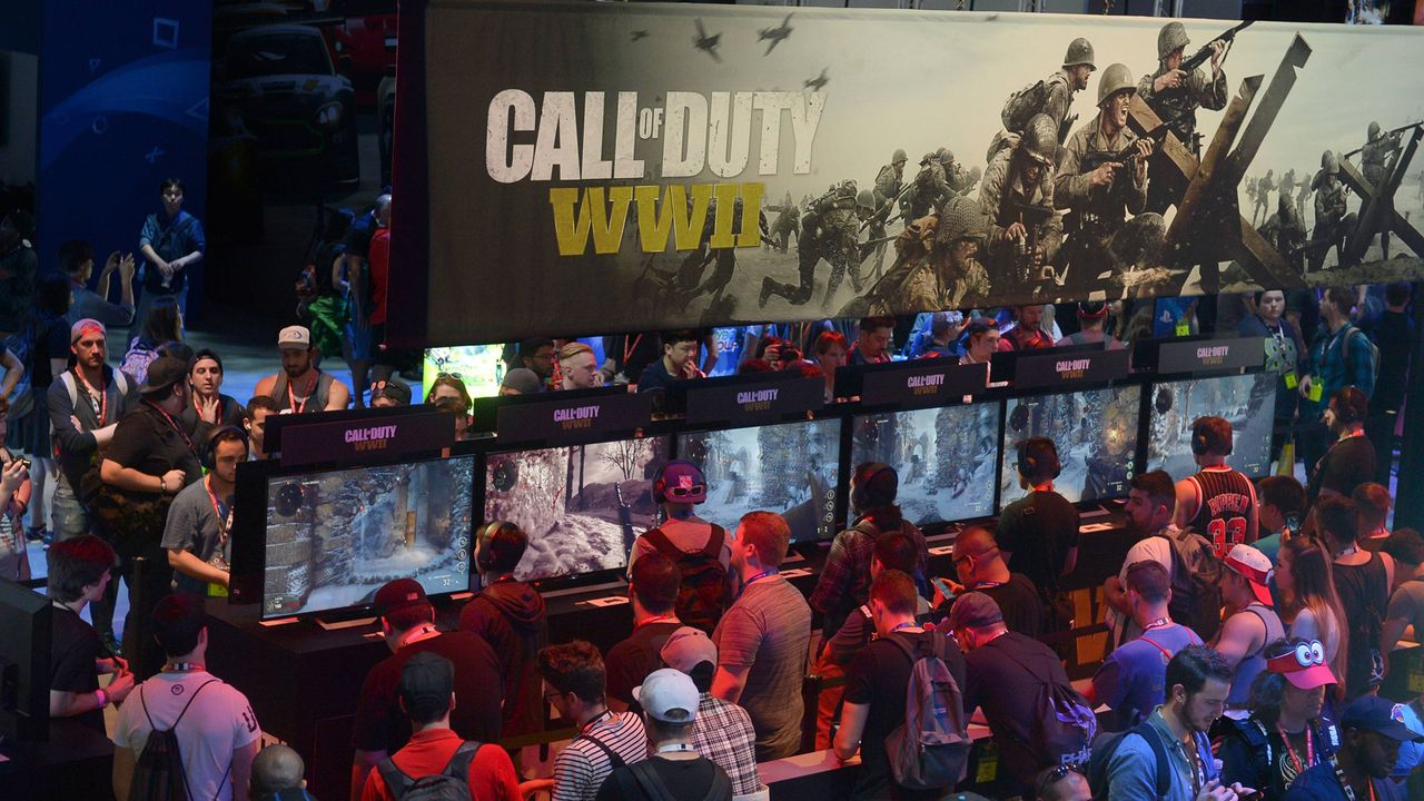 Platz 21: Call of Duty World War II - Bildquelle: imago/UPI Photo