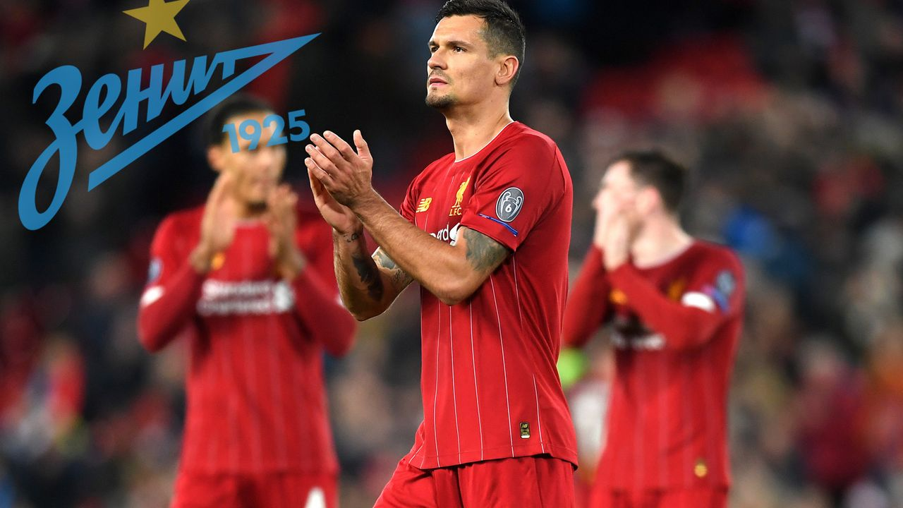 Dejan Lovren (Zenit St. Petersburg) - Bildquelle: 2019 Getty Images