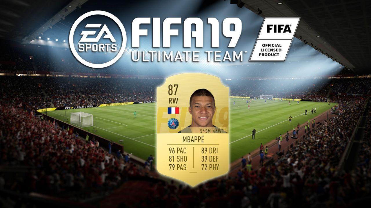 Platz 7: Kylian Mbappe (Paris Saint-Germain) - Bildquelle: EA Sports
