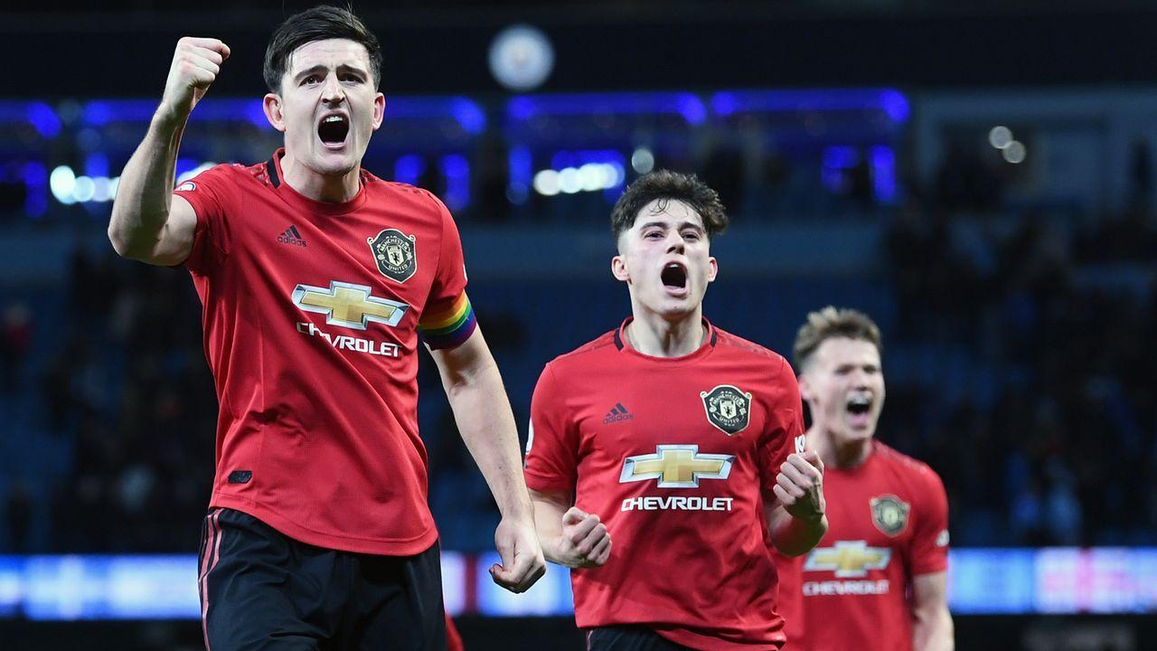 Platz 4 - Manchester United - Bildquelle: 2019 Getty Images
