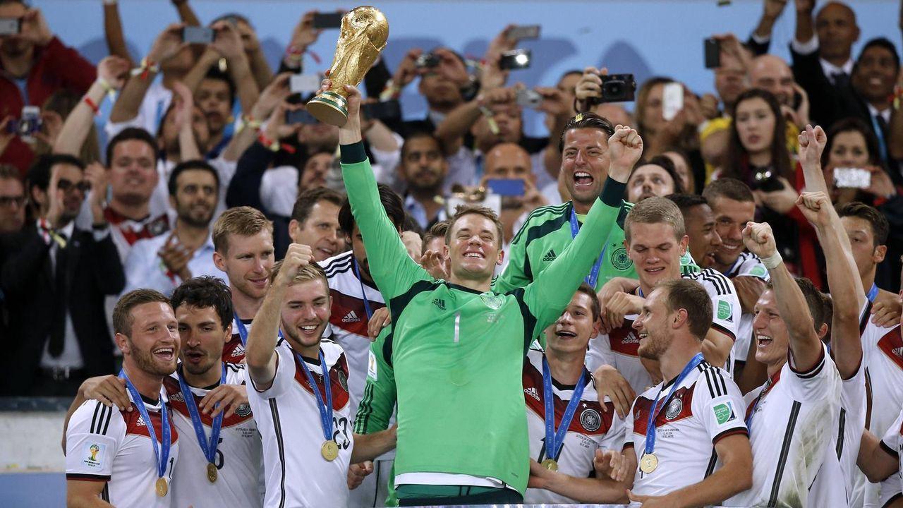 Platz 4: Deutschland (drei Final-Teilnahmen) - Bildquelle: imago
