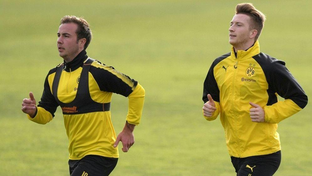 Der BVB wird ab Montag in Zweiergruppen trainieren - Bildquelle: PIXATHLONPIXATHLONSID