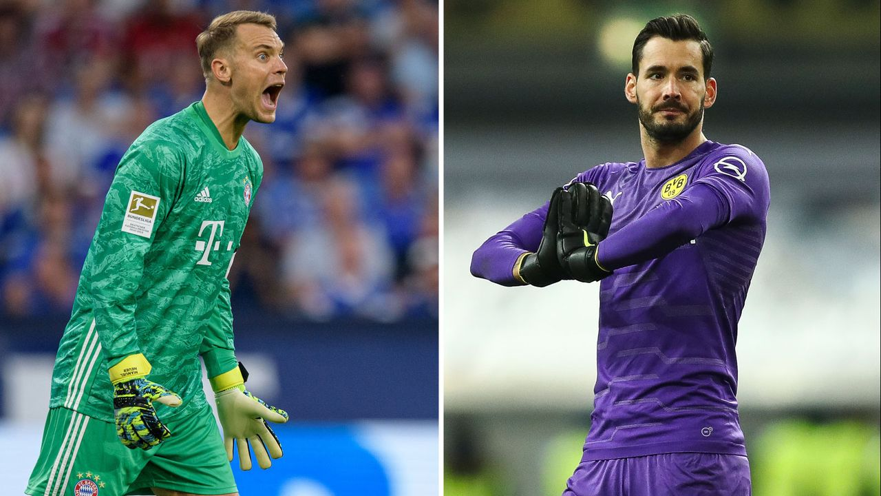 Tor: Manuel Neuer vs. Roman Bürki - Bildquelle: Getty Images