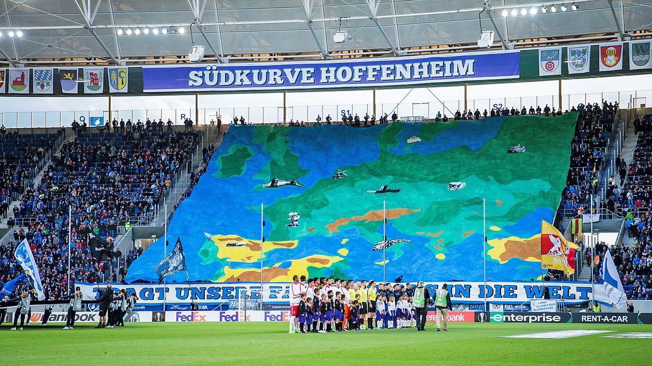 Platz 16: TSG 1899 Hoffenheim - Wirsol Rhein-Neckar-Arena - Bildquelle: Getty