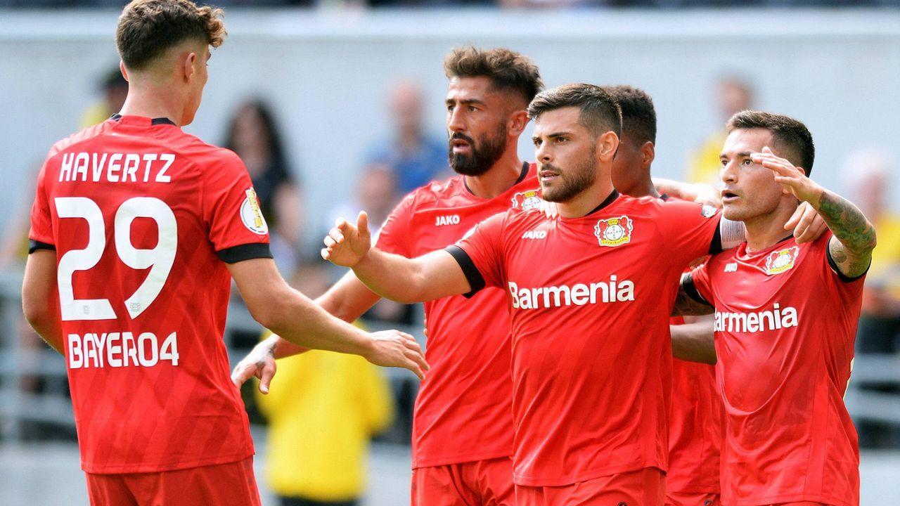 Platz 16: Bayer Leverkusen - Bildquelle: imago images / Uwe Kraft