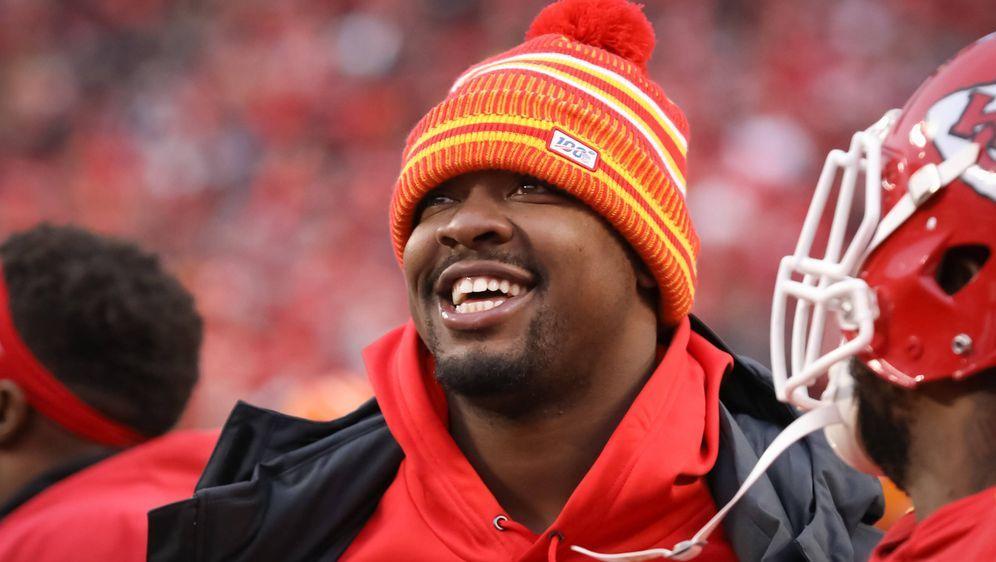 Erhält bei den Chiefs einen Vier-Jahresvertrag: Chris Jones. - Bildquelle: imago