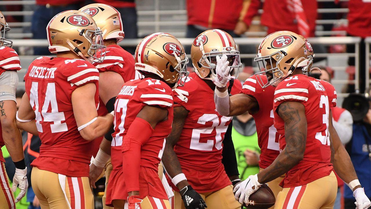 Platz 5: San Francisco 49ers - Bildquelle: 2020 Getty Images