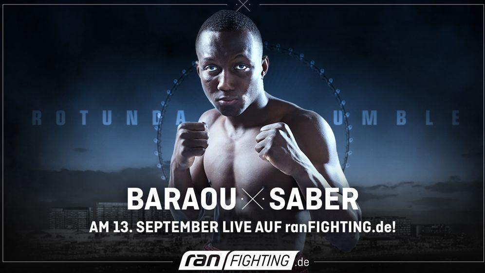 Abass Baraou zeigt sich erstmals auf internationaler Bühne.