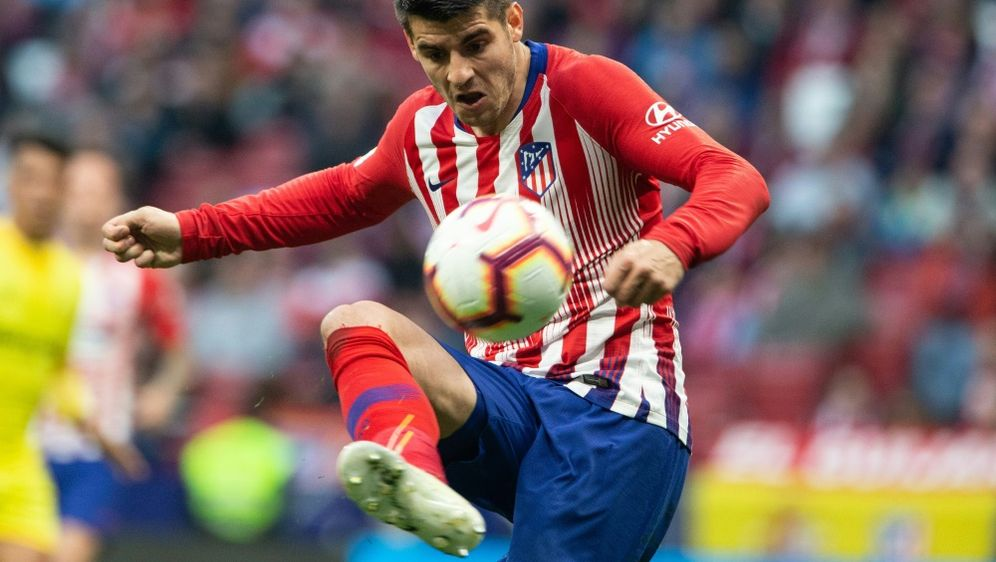 Wechselt fest zu Atletico Madrid: Alvaro Morata - Bildquelle: PIXATHLONPIXATHLONSID