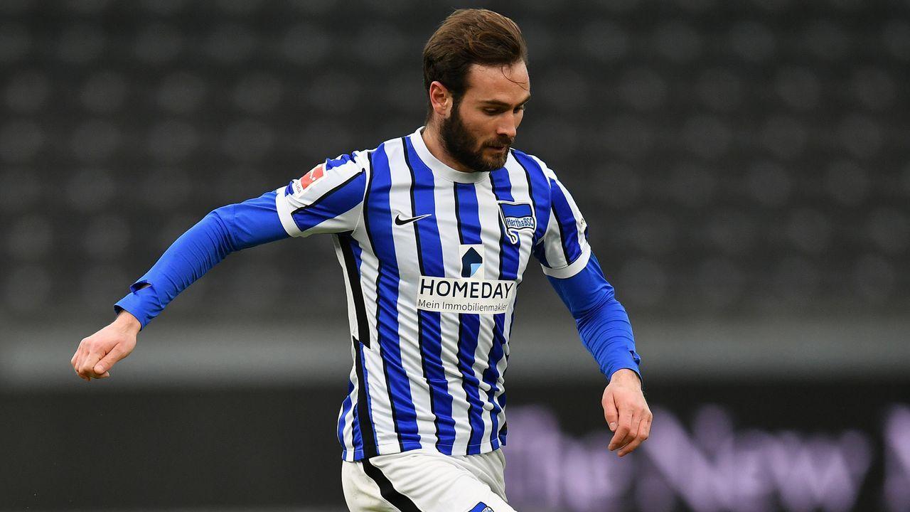 Lucas Tousart (Frankreich/Hertha BSC) - Bildquelle: 2021 Getty Images