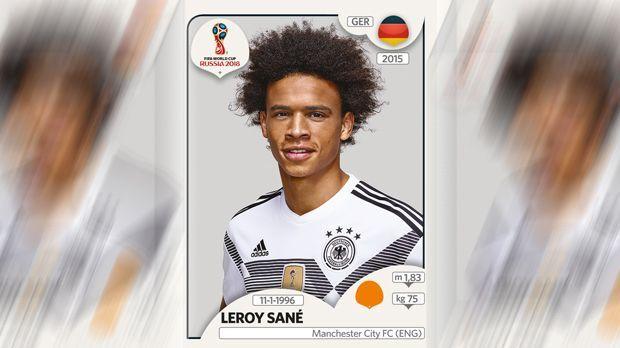 Leroy Sane (Manchester City) - Bildquelle: Panini