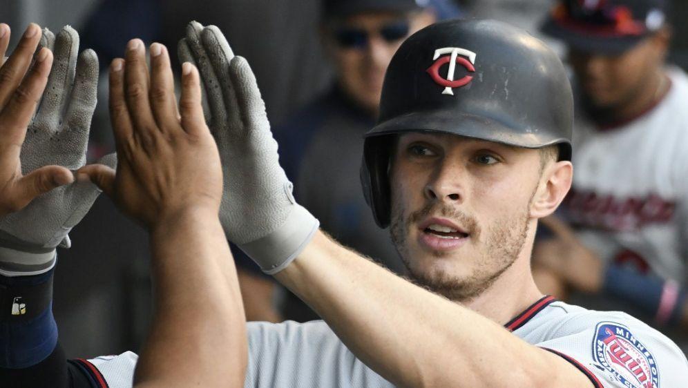 Max Kepler spielte gegen die Cleveland Indians groß auf - Bildquelle: AFPGETTY IMAGES NORTH AMERICASIDDAVID BANKS