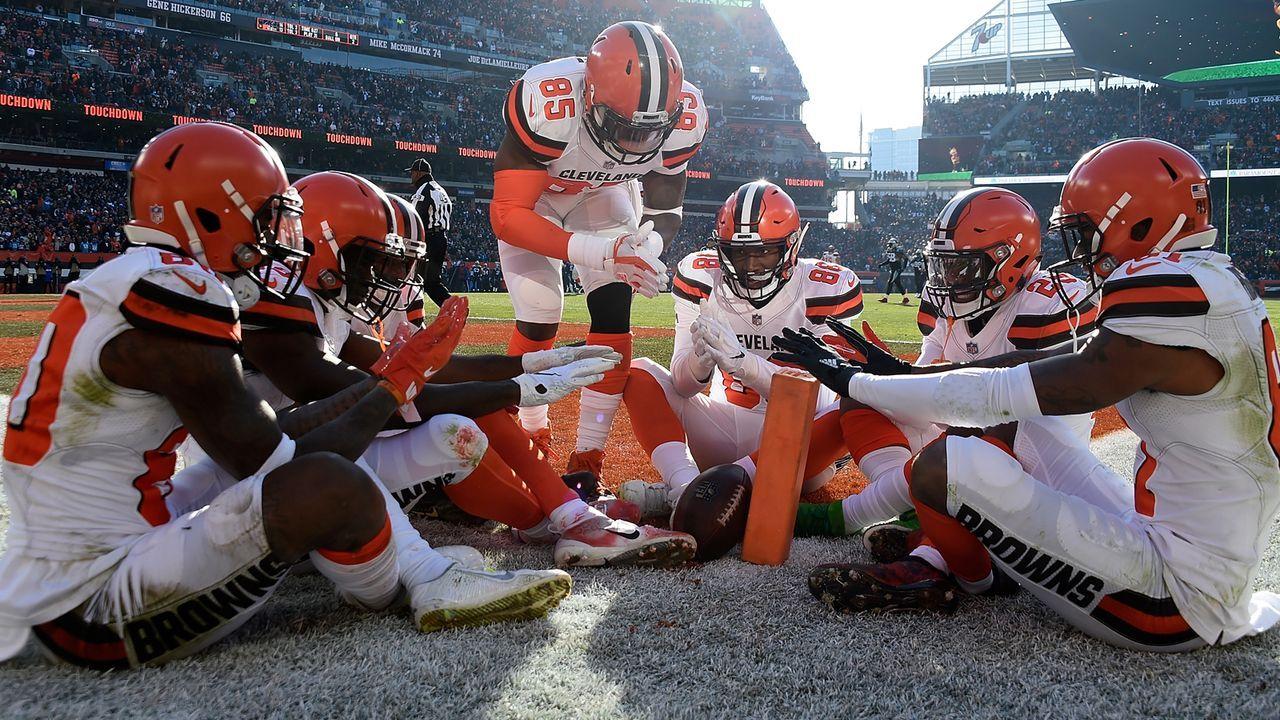 Platz 25: Cleveland Browns - Bildquelle: Getty Images