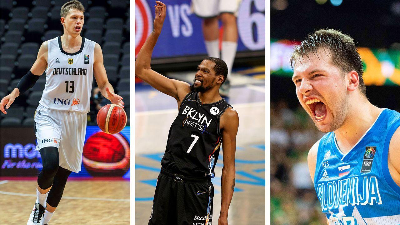 Diese NBA-Stars spielen bei den Olympischen Spielen in Tokio - Bildquelle: Imago Images