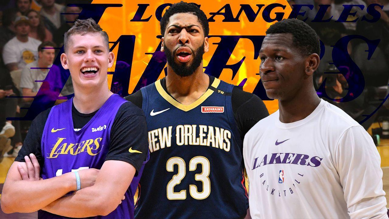 LA Lakers: Zukunft von Moritz Wagner und Isaac Bonga ungewiss - Bildquelle: imago/Icon SMI