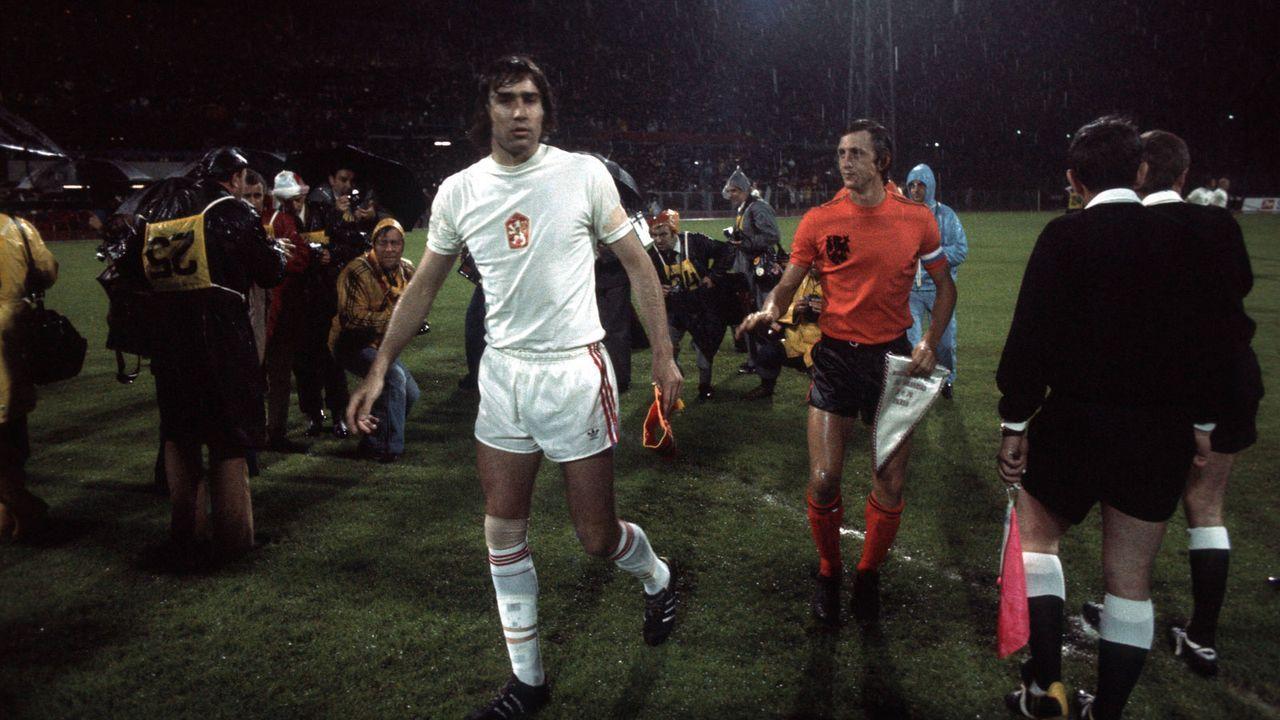 EM 1976: Tschechoslowakei - Niederlande 3:1 n.V. - Bildquelle: Imago Images