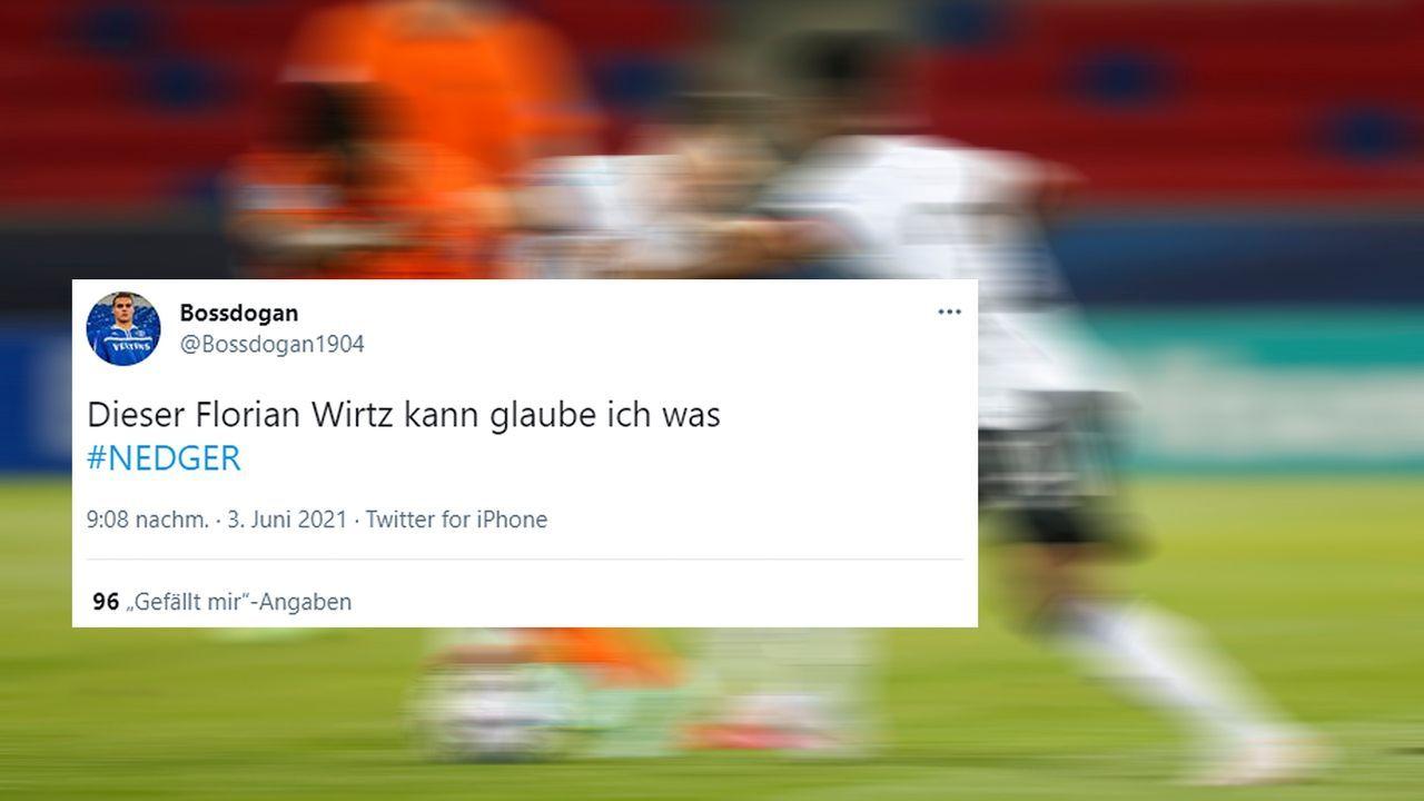 Wirtz-Witze für den Matchwinner - Bildquelle: twitter@Bossdogan1904