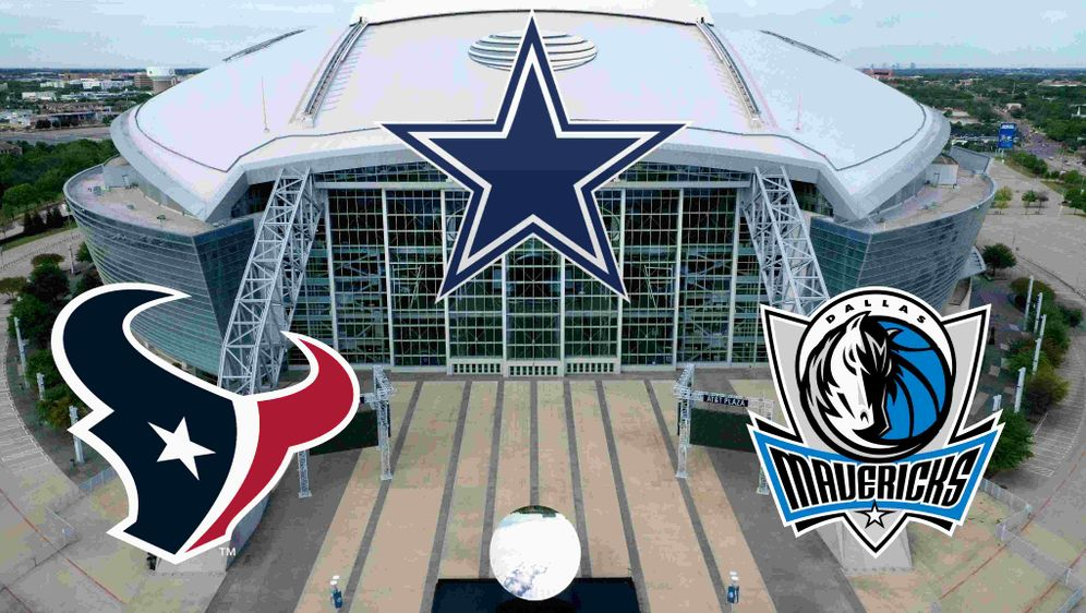 Spielen die Dallas Cowboys hier bald wieder mit Fans? Das AT&T Stadium. - Bildquelle: getty
