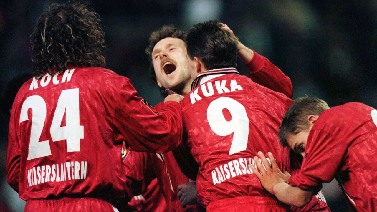 Platz 1: 1. FC Kaiserslautern - SV Meppen 7:6 (11.06.1997) - Bildquelle: imago/Fassbender