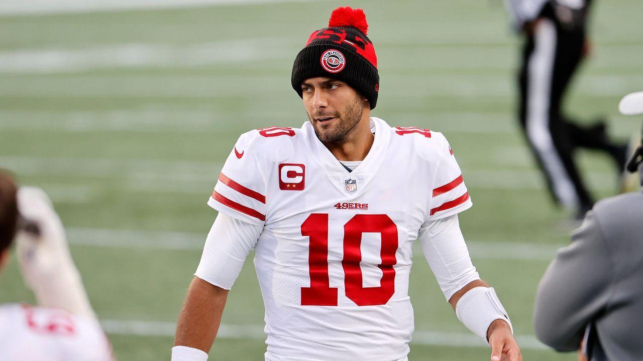 Platz 6: Jimmy Garoppolo (San Francisco 49ers) - Bildquelle: Imago Images