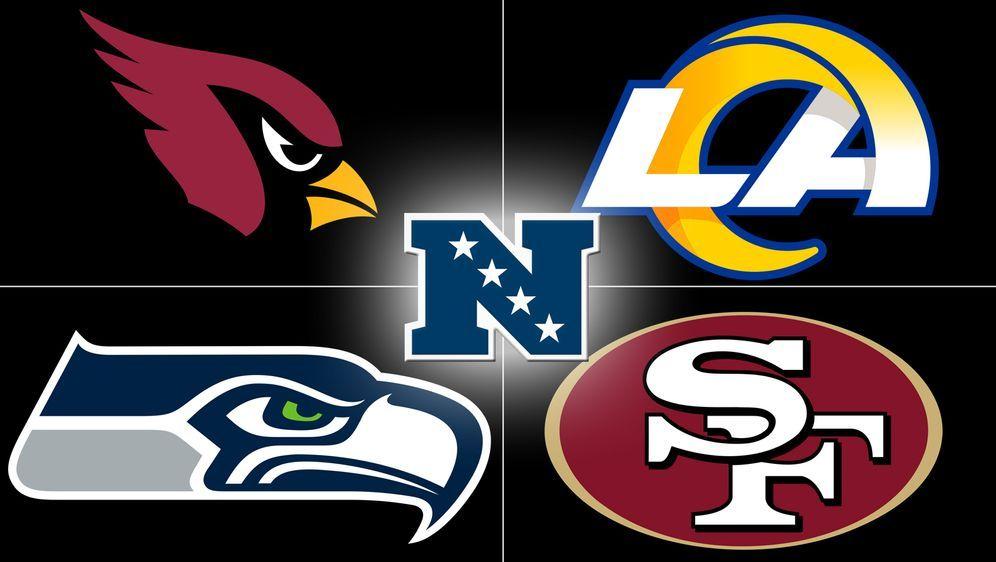 Die Cardinals, Seahawks, Rams und 49ers spielen in der NFC West. - Bildquelle: ran.de